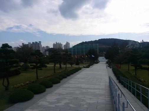 Die UN Kriegsgedenkstätte in Busan