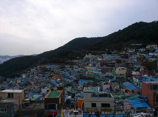 Gamcheon Culture Village - das Maccu Picchu Koreas