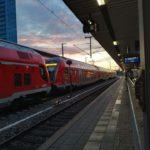 Bahnstation in Deutschland