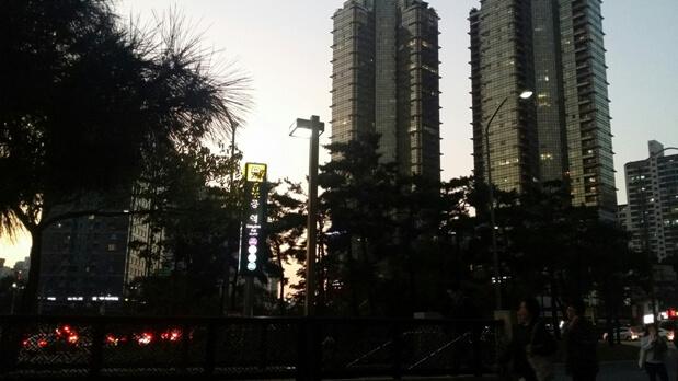 Korea in der Nacht
